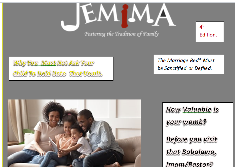 Jemima Family Magazine
