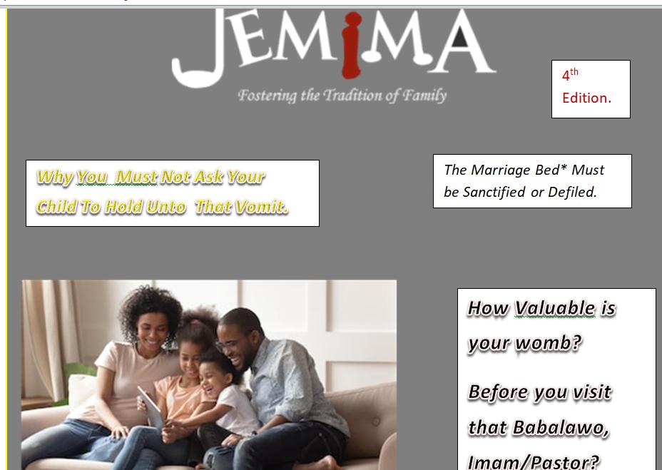 Jemima Family Magazine